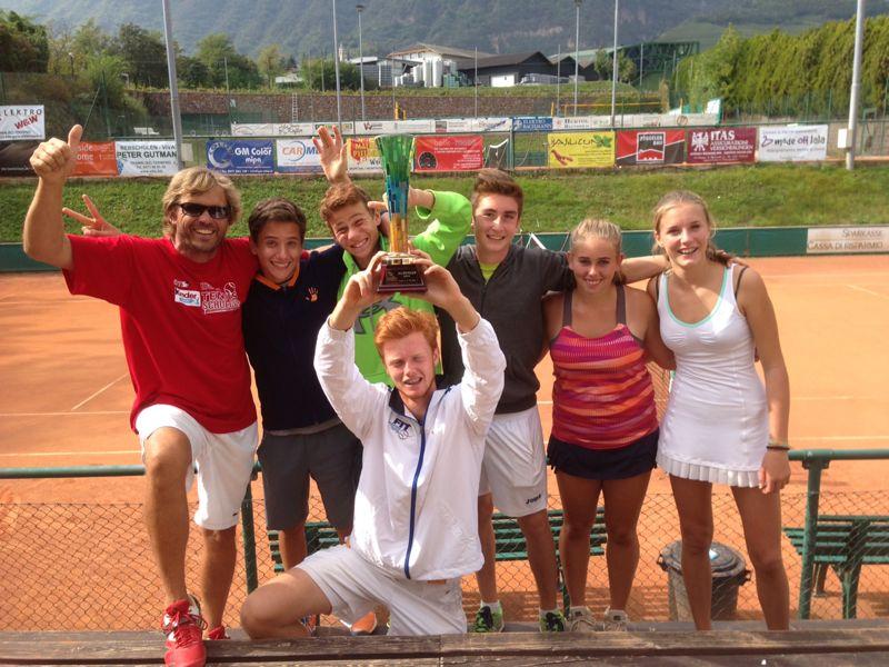 Alpencup 2014: Südtirol, die Siegermannschaft